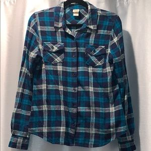 Mossimo Flannel Shirt Large